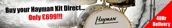 Buy Hayman Drum Kit